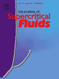 Cover image for The Journal of Supercritical Fluids