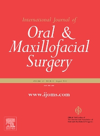 Cover image for International Journal of Oral and Maxillofacial Surgery