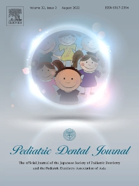 Cover image for Pediatric Dental Journal