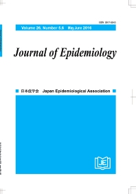 Cover image for Journal of Epidemiology