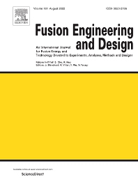 Cover image for Fusion Engineering and Design