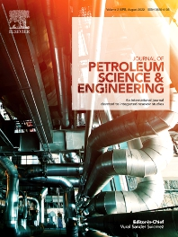 Cover image for Journal of Petroleum Science and Engineering