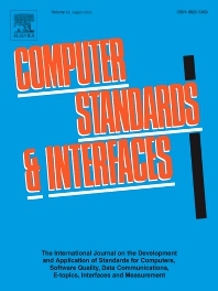 Cover image for Computer Standards & Interfaces