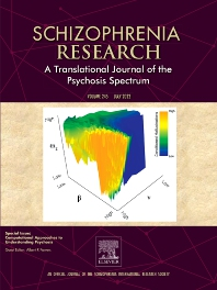 Schizophrenia Research - ISSN 0920-9964