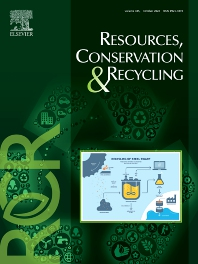 Cover image for Resources, Conservation & Recycling