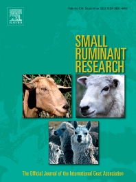Cover image for Small Ruminant Research