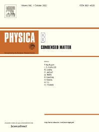 Cover image for Physica B: Condensed Matter