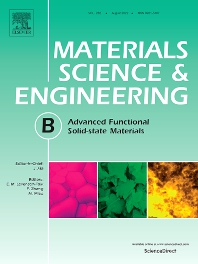 Cover image for Materials Science and Engineering: B