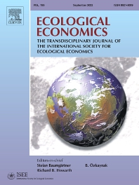 Cover image for Ecological Economics