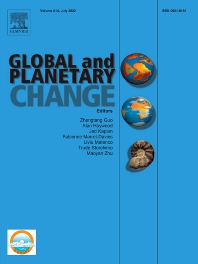Cover image for Global and Planetary Change