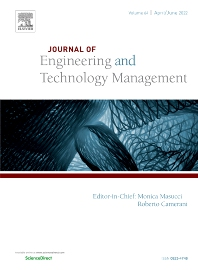 Cover image for Journal of Engineering and Technology Management