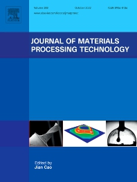 Cover image for Journal of Materials Processing Technology