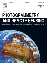 Cover image for ISPRS Journal of Photogrammetry and Remote Sensing