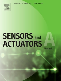 Cover image for Sensors and Actuators A: Physical