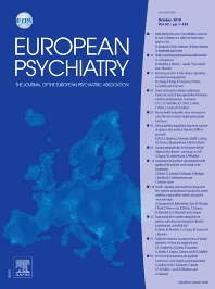 European Psychiatry - Journal - Elsevier