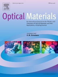 Cover image for Optical Materials