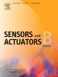 Cover image for Sensors and Actuators B: Chemical