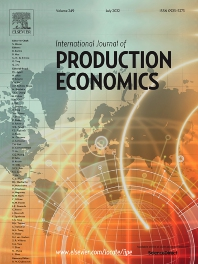 Cover image for International Journal of Production Economics