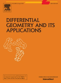 Differential Geometry and its Applications - ISSN 0926-2245