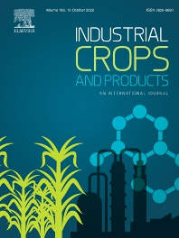 Cover image for Industrial Crops and Products