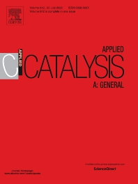 Applied Catalysis A: General - ISSN 0926-860X