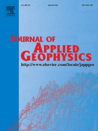 Cover image for Journal of Applied Geophysics