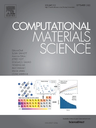 Computational Materials Science - Journal - Elsevier