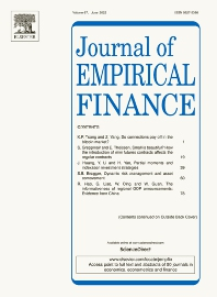 Cover image for Journal of Empirical Finance