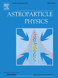 Cover image for Astroparticle Physics