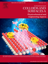 Cover image for Colloids and Surfaces A: Physicochemical and Engineering Aspects