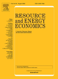 Resource and Energy Economics - ISSN 0928-7655