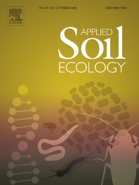 Cover image for Applied Soil Ecology