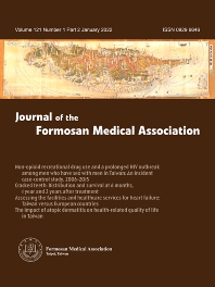 Cover image for Journal of the Formosan Medical Association