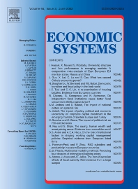 Economic Systems - ISSN 0939-3625