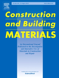 Cover image for Construction and Building Materials