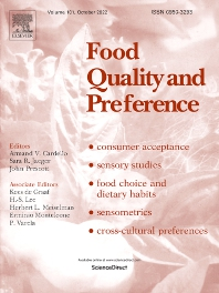 Cover image for Food Quality and Preference