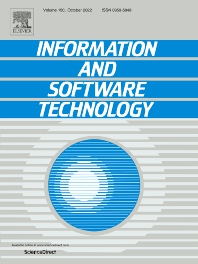 Information and Software Technology - ISSN 0950-5849