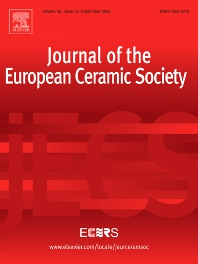 Cover image for Journal of the European Ceramic Society