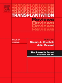 Cover image for Transplantation Reviews
