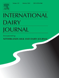 Cover image for International Dairy Journal