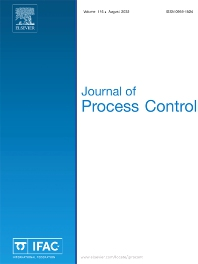 Cover image for Journal of Process Control