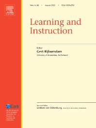 Cover image for Learning and Instruction