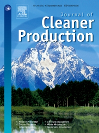 Cover image for Journal of Cleaner Production