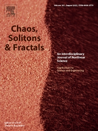 Cover image for Chaos, Solitons & Fractals