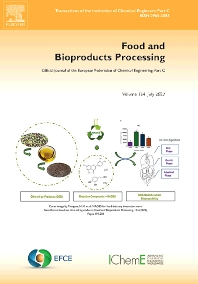Food and Bioproducts Processing - ISSN 0960-3085