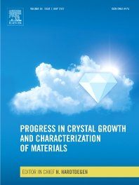 Cover image for Progress in Crystal Growth and Characterization of Materials