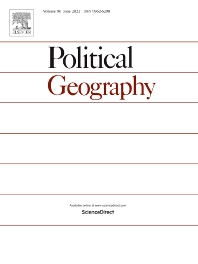 Cover image for Political Geography