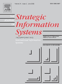 cover of The Journal of Strategic Information Systems