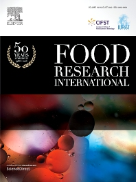 Cover image for Food Research International