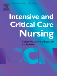 Intensive and Critical Care Nursing - ISSN 0964-3397